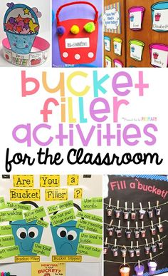 Stellar Bucket Filler Activities to Encourage Kindness Stellar Bucket Filler Activities to Encourage Kindness,Social Emotional Learning Tons of bucket filler activities and ideas for the classroom. Help kids learn to be kind and act. Kindergarten, Preschool Classroom, Classroom Activities, Classroom Decor, Classroom Norms, Preschool Behavior, Superhero Classroom, Classroom Teacher, Future Classroom