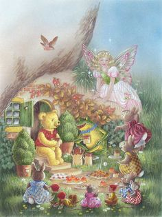 Teddy's Forest Friends - The Pixies' Kettle House by Shirley Barber