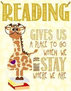Reading giraffe quote via Ups, Downs, & Roundabouts at www.facebook.com/UpsDownsRoundabouts