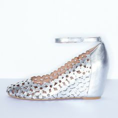 Cold Feet by Jeffrey Campbell 'Delaisy', silver, $130