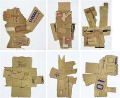 Cardboard Series by Robert Rauschenberg