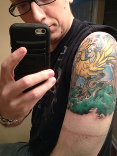 chocobo tattoo tattoo pinterest tattoos and body art and galleries. Black Bedroom Furniture Sets. Home Design Ideas