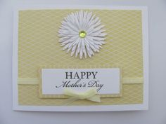 Handmade Mother's Day Card by SassyScrapsCrafts on Etsy, $3.50