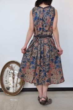 antipast print dress