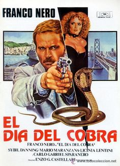 EL DIA DEL COBRA (1980 / FRANCO NERO) / Carteles de cine en todocoleccion