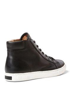 Dree Nappa High-Top Sneaker - W Polo Leather  WOMEN - RalphLauren.com