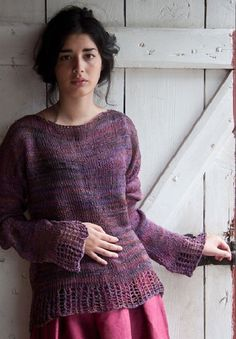 Hamilton Yarns--Nina Sagulin--Veronika on Patternfish.com