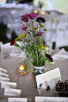 Wedding flower idea!