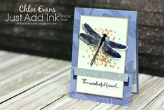 Chlo's Craft Closet - Stampin' Up! Independent Demonstrator: JAI Sketch Challenge #339 - Dragonfly Dreams