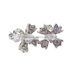 Tiffany And Co Earring Flower Silver 113 Tiffany And Co Earrings, Tiffany Bracelets, Tiffany Uk, Jewelery, Flowers, Silver, Shops, Slim, Jewlery