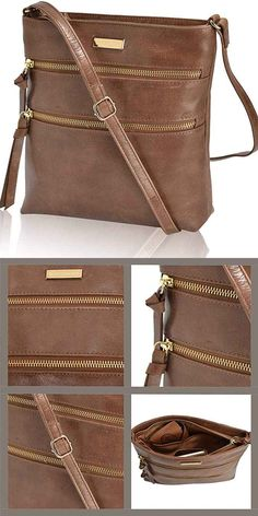 Leather Crossbody Purse for Women- Premium Crossover Cross Body Bag Over the Shoulder Luxury Womens Purses and Handbags Leather Crossbody Bag, Leather Handbags, Leather Bag Pattern, Unique Bags, Womens Purses, Tote Purse, Belts For Women, Wallets For Women, Purses And Handbags