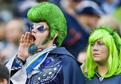 Seattle Seahawks Fans - Loud, Proud and Super Fans by any standard. Seattle Seahawks, Seahawks Fans, Seahawks Football, Blue Friday, Seattle Fashion, Blue Crew, Man Images, Nfl Fans, 12th Man