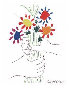 Pintando sonrisas de colores: Día escolar de la No violencia y la PAZ.