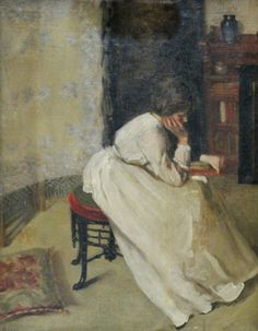 .:.Girl Reading a Book — Emma Eilers