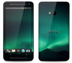 HTC One Case Decal Skin Cover  Northern Lights by skunkwraps, $9.95