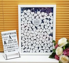 New to Fingerprint Tree we are thrilled to introduce a new concept in alternative guest books the DROP BOX We think we have the prettiest Drop Box