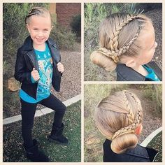 All ready for dance today! We again did the challenge by and did two lace braided into a low side bun. Side Bun Hairstyles, Dance Hairstyles, Princess Hairstyles, Little Girl Hairstyles, Braided Hairstyles, Girl Hair Dos, Baby Girl Hair, Jasmine Hair, Curly Hair Styles