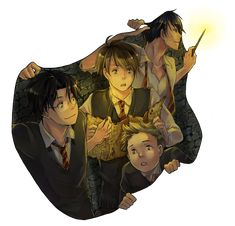 Anime Harry Potter Is the Perfect Fan Art Creation