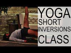 Short Yoga Inversion Class With Tim Senesi - YouTube