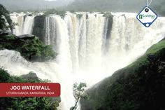 Jog Falls is the second-highest plunge waterfall in India located in Sagara taluk in the state of Karnataka. They are also known as the Gersoppa Falls or Jogada Gundi. The falls are located on the Uttara Kannada and Sagara border. The segmented falls are a major tourist attraction.