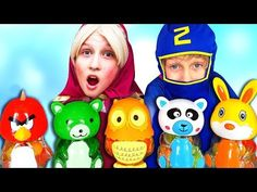 Funny baby pretend play with baby bottles for kids Funny videos - YouTube