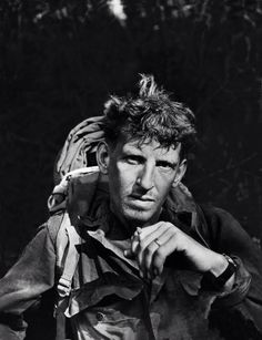 of Merrill's Marauders, Pausing with Cigarette, Burma Campaign in WWII Burma Campaign, British Soldier, British Army, Asian History, Portraits, Interesting Faces, World History, Military History, World War Two