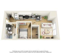 Unit H Floor Plan