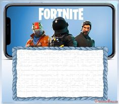 Free Printable Fortnite invitation card - Fortnite Invitation Templates for Epic Party My Little Pony Invitations, Hello Kitty Invitations, How To Make Invitations, Mickey Mouse Birthday Invitations, Free Birthday Invitation Templates, Free Printable Birthday Invitations, Party Invitations Kids, Invitation Cards, Birthday Cards
