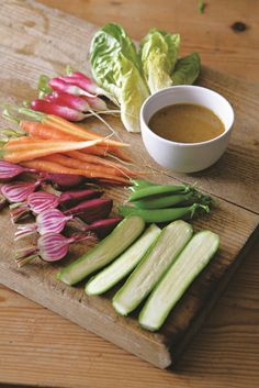 This punchy anchovy-based dressing – similar to the Italian classic bagna cauda – is a year-round favourite and easy to whip up from the sort of ingredients you're likely to have in your store-cupboard and fridge. It's a superb accompaniment to all kinds of veg – raw or cooked. We love it as a dip for crunchy summer crudités, but also serve it as a dressing for steamed purple sprouting broccoli, calabrese, cauliflower and kale. It will keep happily in a jar in the fridge for at least a…
