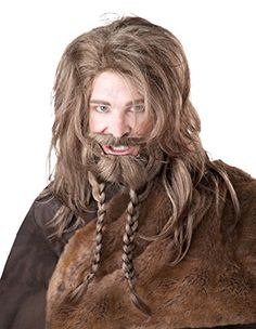 0a05b823fca California Costumes Women s Viking Wig Beard and Moustache