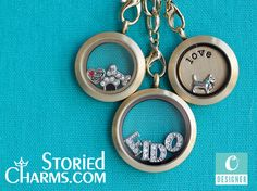 """Create a """"Love My Pet"""" Themed Origami Owl Living Locket at StoriedCharms.com"""