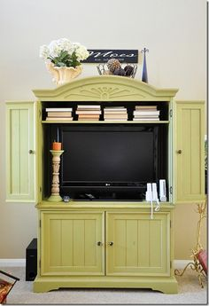 Armoire redo for the TV