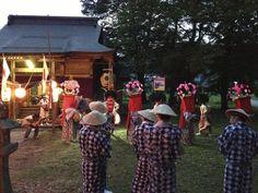 平成25年8月31日(土) 朝日町大谷に鎮座する白山神社の『大谷風神祭』