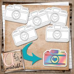 U printables by RebeccaB: FREE Printables - 3 Black and White Digital Stamps