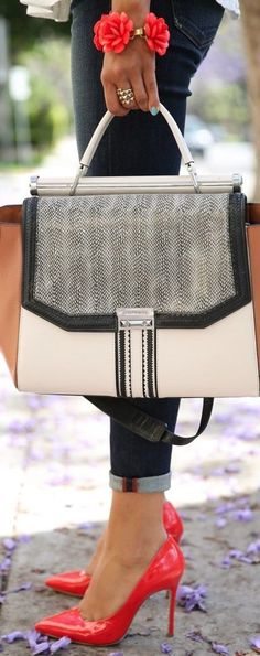 Stunning Street Fashion Details Bag Heels and Accessories Fall
