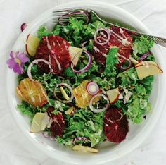 Grünkohlsalat, die saison beginnt!