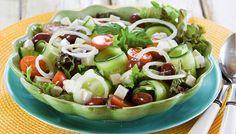 Kevennetty kreikkalainen salaatti - K-ruoka