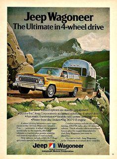 JEEP WAGONEER 1974 Ad Ultimate In 4 Wheel Drive by StillsofTime,