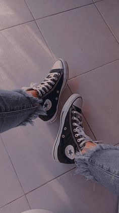 Converse Chuck Taylor High, Converse High, High Top Sneakers, Aesthetic Shoes, Chuck Taylors High Top, High Tops, Fashion, Converse Shoes, Moda