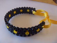 Kultiges Armband aus Hama Bügelperlen von maximix