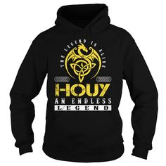 The Legend is Alive HOUY An Endless Legend Name Shirts #Houy