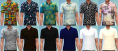 *EDIT* These files have been tested and work as of 4/18/2015! Hey guys! I have 12 polo shirt recolors for you today! Enjoy! Download all 12 recolors combined into one package here: 12 Polo Shirt …