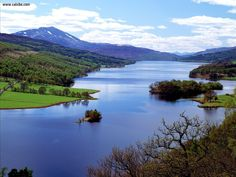 Queens View Loch Tummel Scotland