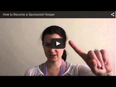 How to Be a Sponsored HooperHooping with Sarah