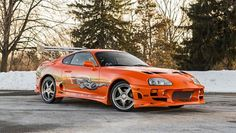 The Fast and Furious Supra is for sale! Check it out here... http://buff.ly/1OEPqoF