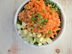 Minty Almond Quinoa with Kale #glutenfree