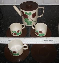 Vintage Childrens /Dolls Plastic Tea set Dining Toys Childs