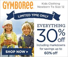 Gymboree: 30% Off Entire Purchases! | Closet of Free | Get FREE Samples by Mail | Free Stuff