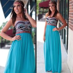 Normally I don't like maxi dresses, but this is really cute!!