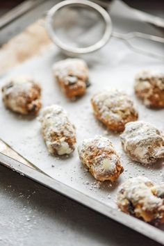 Mini Stollen, Fika, Christmas Time, Cereal, Food And Drink, Sweets, Fresh, Cookies, Breakfast